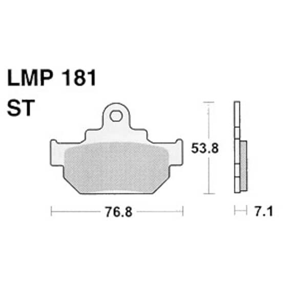 AP BRAKE PAD LMP181
