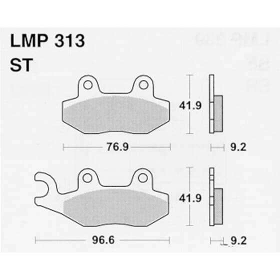 AP BRAKE PAD LMP313
