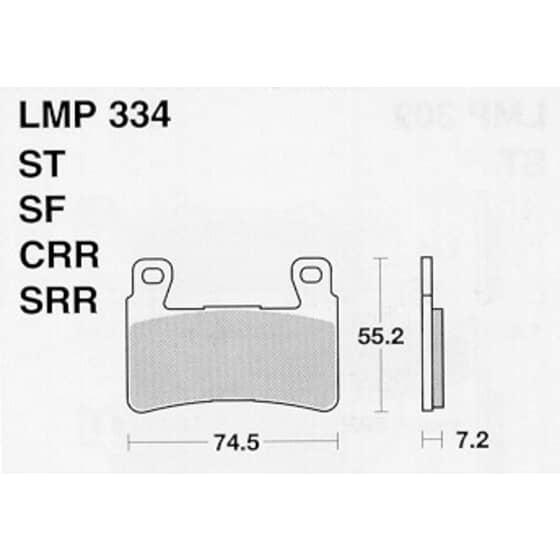 AP BRAKE PAD LMP334