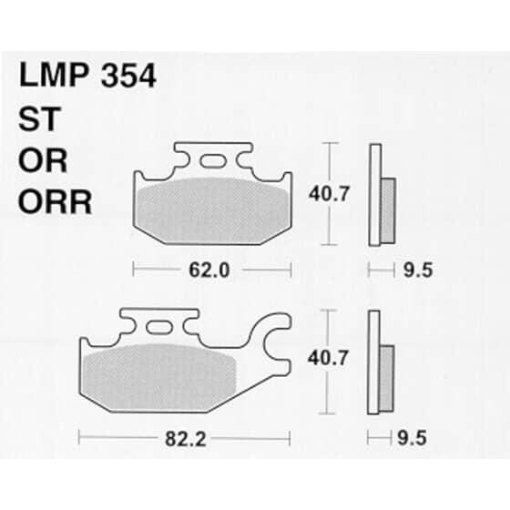 AP BRAKE PAD LMP354