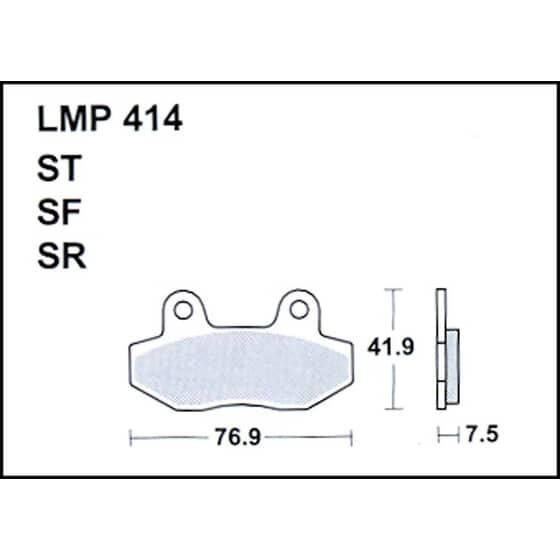 AP BRAKE PAD LMP414