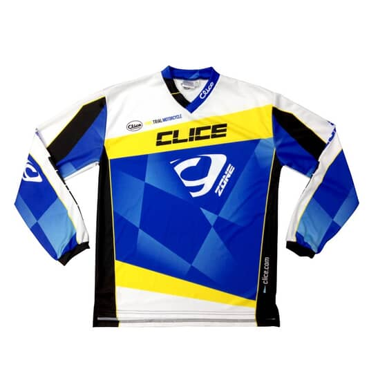 CLICE ZONE TRIAL maillot 2015 rouge noir