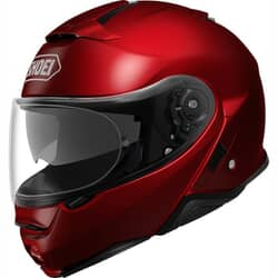 SHOEI NEOTEC 2 SOLID+ WINE RED