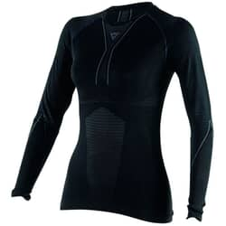 DAINESE D-CORE DRY TEE LS LADY BLACK/ANTHRACITE