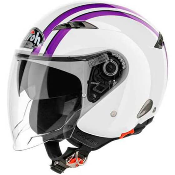 AIROH CITY ONE STYLE VIOLET