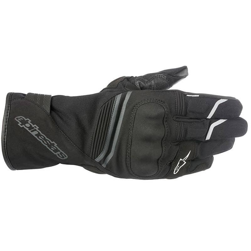 Black Alpinestars Equinox Outdry Motorcycle Gloves