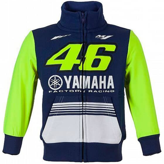 VR46 17 FLEECE YAMAHA VR KID 272803