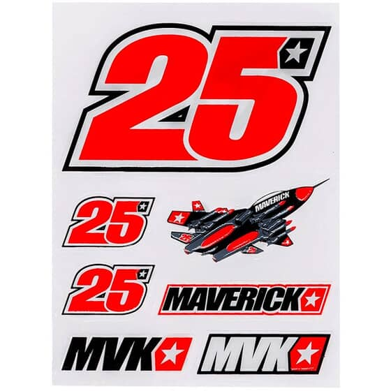 VR46 17 STICKER MAVERICK VINALES 278503