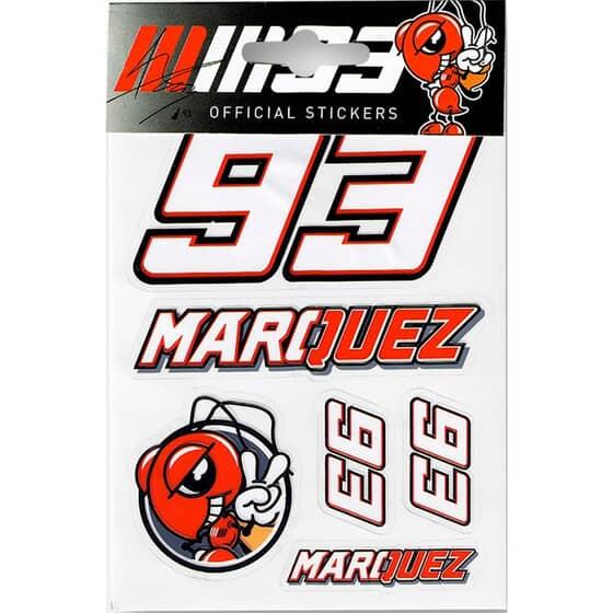 VR46 MARQUEZ STICKER SMALL 162703