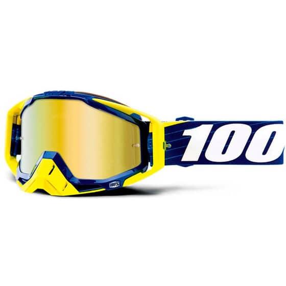 100% RACECRAFT BILAL/NAVY IRIDIUM ORO