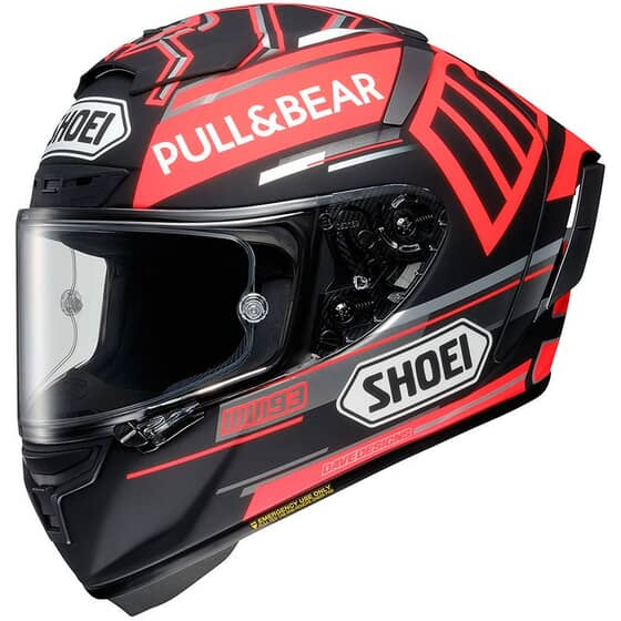 SHOEI X-SPIRIT 3 MARQUEZ BLACK CONCEPT