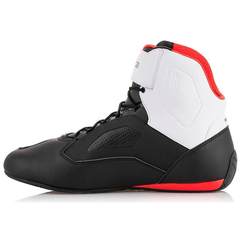 11, 123-Black//White//Red Alpinestars Faster-3 Rideknit Shoes