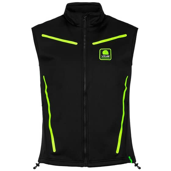 VR46 NO SLEEVES JACKET RIDERS ACADEMY 318304