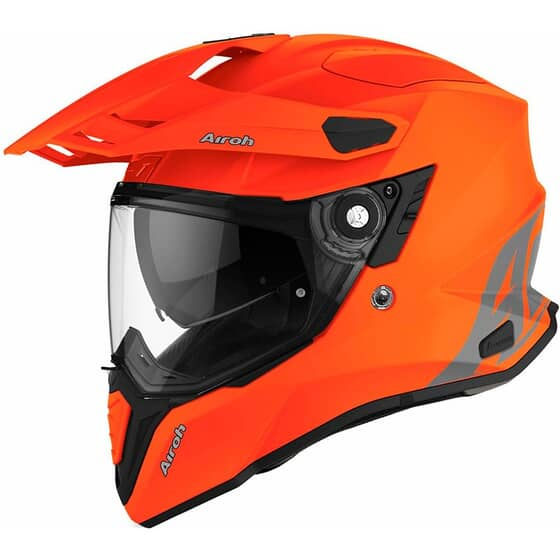 AIROH COMMANDER ORANGE FLUO