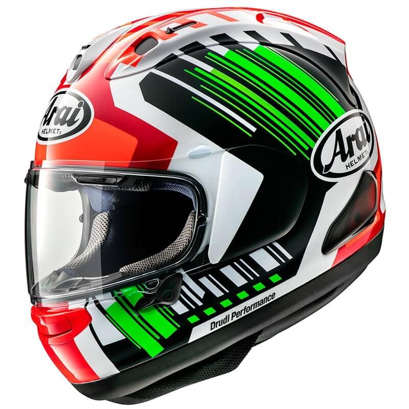 Detalles de Arai presenta los cascos integrales de moto