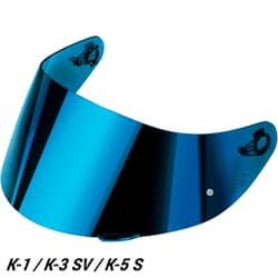 AGV VISOR GT2-1 AS PLK (XS-S-MS) IRIDIUM IRIDIUM BLUE
