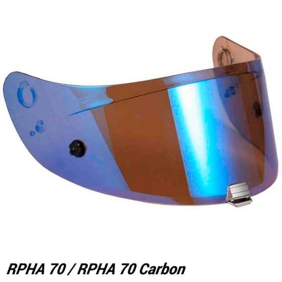 HJC HJ26ST ECRAN IRIDIUM RPHA70