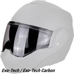 SCORPION EXO VISOR EXO-TECH / EXO-TECH CARBON