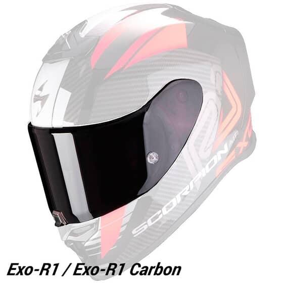 SCORPION VISOR RACING EXO-R1 / EXO-R1 Carbon
