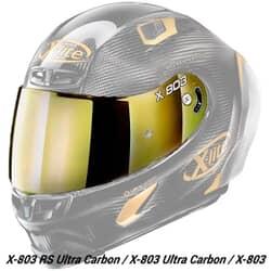 X-LITE VISIÈRE X-803 / X803 RS IRIDIUM GOLD