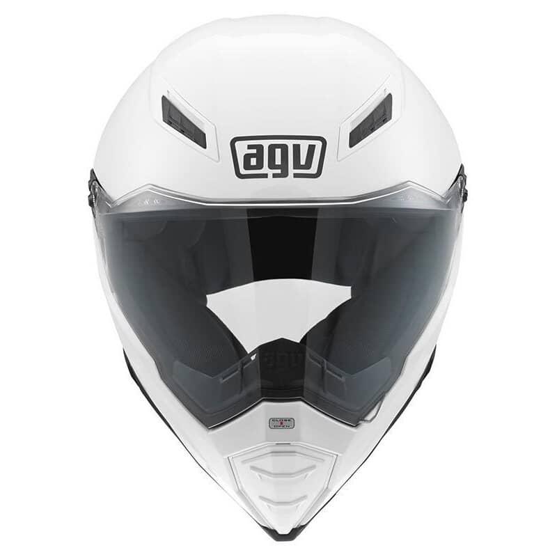 AGV AX8 Naked Identity 46 Dual Sport Helmet   M&P Direct