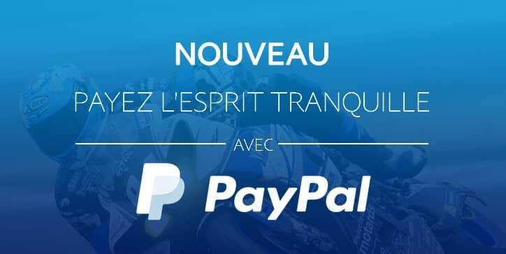 Nouveau - Payez avec Paypal